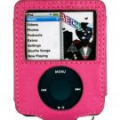 HOT PINK Forza Carrying Case for Apple iPod Nano 3rd Generation