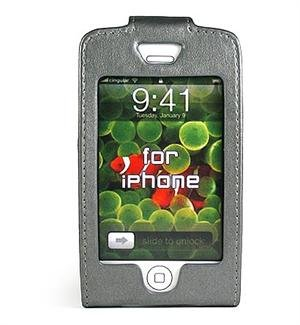GRAY Apple iPhone Forza Leather Case