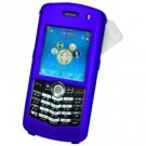 Blackberry 8100 Pearl Hard Plastic Proguard w/ Detachable Swivel Clip - Blue