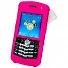 Blackberry 8100 Pearl Hard Plastic Proguard w/ Detachable Swivel Clip - Pink