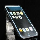 Black Crystal Case w/ Built-In Belt Clip & Kickstand for Apple iTouch 2