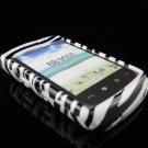 Hard Plastic Design Cover Case for BlackBerry Storm 9500/9530 - Zebra Stripe