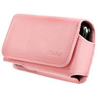 Apple iPhone Pink Noble Case w/ Removable Spring Clip & Swivel Clip