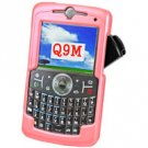 Hard Plastic Proguard for Motorola Q9M - Pink