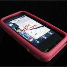 PREMIUM High-Quality Soft Silicone Skin Cover for Samsung Eternity A867 - Burgundy