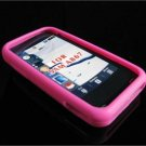 PREMIUM High-Quality Soft Silicone Skin Cover for Samsung Eternity A867 - Pink