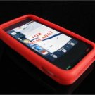 PREMIUM High-Quality Soft Silicone Skin Cover for Samsung Eternity A867 - Red