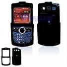 Hard Plastic Shield Cover Case for Samsung Saga i770 - Black