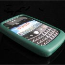 PREMIUM High-Quality Soft Silicone Skin Cover for BlackBerry Curve (JAVELIN) 8900 - Everest Green