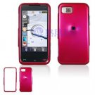 Hard Plastic Shield Cover Case for Samsung Eternity A867 - Rose Pink