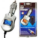 Micro USB Elite Car Charger with Smart Display & IC Chip Protection for Samsung Rant M540