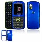 Hard Plastic Shield Cover Case for Samsung Gravity T459 - Blue