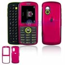 Hard Plastic Shield Cover Case for Samsung Gravity T459 - Rose Pink