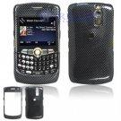 Hard Plastic Design Cover Case for BlackBerry Curve 8350i (Sprint/Nextel) - Carbon Fiber