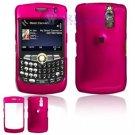 Hard Plastic Shield Cover Case for BlackBerry Curve 8350i (Sprint/Nextel) - Rose Pink