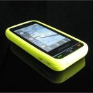 PREMIUM High-Quality Soft Silicone Skin Cover for Samsung Eternity A867 - Yellow