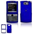 Hard Plastic Shield Protector Faceplate Case for Samsung Epix i907 - Blue
