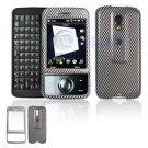 Hard Plastic Design Cover Case for HTC Touch Pro (SPRINT) - Carbon Fiber