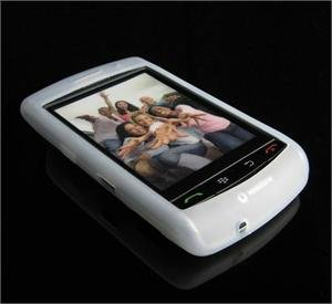 High Quality Premium Soft Rubber Silicone Cover Case for BlackBerry Storm - Clear