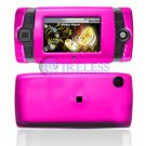 Hard Plastic Shield Protector Cover Case for Sidekick 2008 - Hot Pink