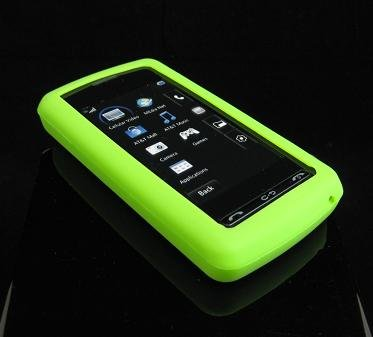 Silicone Skin Cover Case for LG VU CU920 - Green