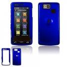Hard Plastic Shield Cover Case for LG Versa VX9600 (Verizon) - Blue