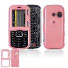 Hard Plastic Shield Cover Case for LG Rumor 2 LX265 - Pink