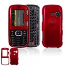 Hard Plastic Shield Cover Case for LG Rumor 2 LX265 - Red