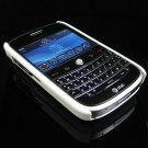 Back Cover Rubber Coating Hard Faceplate for BlackBerry Bold 9000 - White