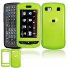 Hard Plastic Smooth Shield Cover Case for LG Xenon GR500 (AT&T) - Neon Green