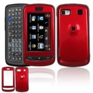 Hard Plastic Smooth Shield Cover Case for LG Xenon GR500 (AT&T) - Red