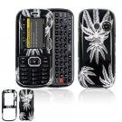 Hard Plastic Design Cover Case for LG Rumor 2 LX265 - Weed
