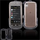 Hard Plastic Smooth Shield Cover Case for Samsung Instinct S30 - Clear