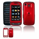Hard Plastic Smooth Shield Cover Case for Samsung Impression A877 (AT&T) - Red