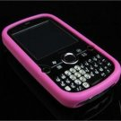 Full View Soft Silicone Skin Case for Palm Treo Pro 850 - Hot Pink