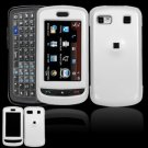 Hard Plastic Smooth Shield Cover Case for LG Xenon GR500 (AT&T) - White
