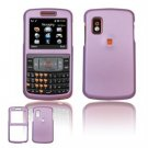 Hard Plastic Rubber Feel Cover Case for Samsung Magnet A257 (AT&T) - Light Purple