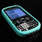 Full View Soft Silicone Skin Case for Palm Treo Pro 850 - Turquoise