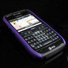 Hard Plastic Robotic Cover Case for Nokia E71 - Purple / Black