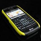 Hard Plastic Robotic Cover Case for Nokia E71 - Yellow / Black