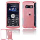 Hard Plastic Glossy Shield Cover Case for LG enV3 VX9200 (Verizon) - Baby Pink