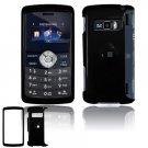 Hard Plastic Glossy Shield Cover Case for LG enV3 VX9200 (Verizon) - Black