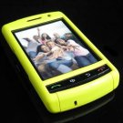 PREMIUM Hard Plastic Shield Cover Case for BlackBerry Storm 9500/9530 - Solid Yellow