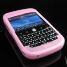 Premium Grip Soft Silicone Skin Cover Case for BlackBerry BOLD 9000 - Baby Pink