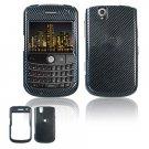 Hard Plastic Design Cover Case for BlackBerry Tour 9600/9630 - Carbon Fiber