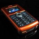 Hard Plastic Glossy Rim Cover Case for LG enV3 VX9200 (Verizon) - Orange
