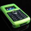 Hard Plastic Rubber Feel Rim Cover Case for LG enV3 VX9200 (Verizon) - Green