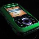 Hard Plastic Rubber Feel Cover Case for Motorola Rival A455 (Verizon) - Green