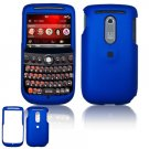 Hard Plastic Rubber Feel Cover Case for HTC Dash 3G - Dark Blue