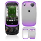 Hard Plastic Two Tone Frost Cover Case for Palm Pre - Purple